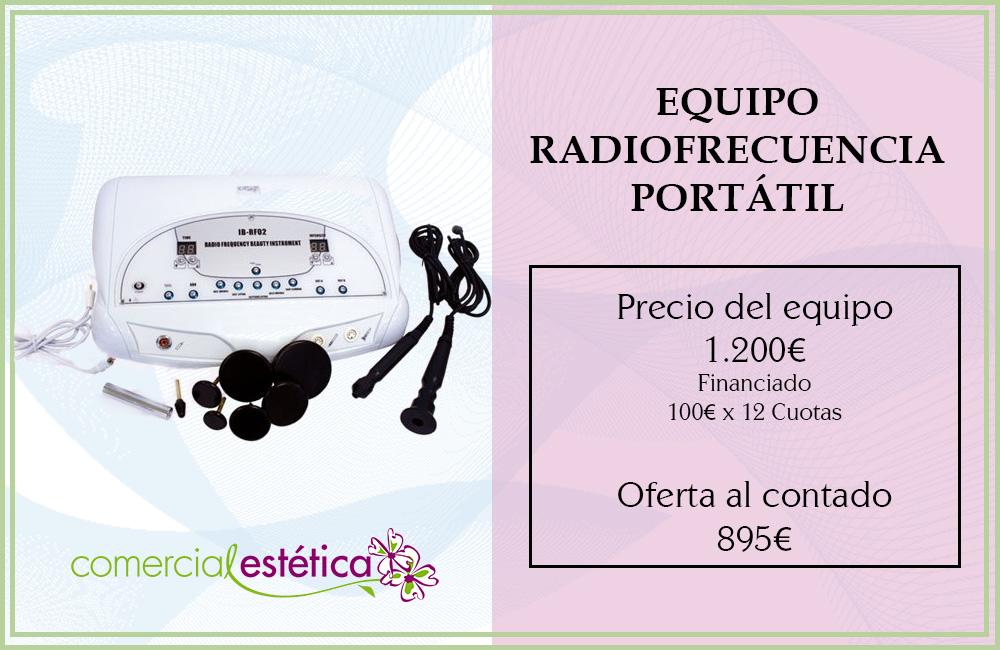 maquina radiofrecuencia portatil
