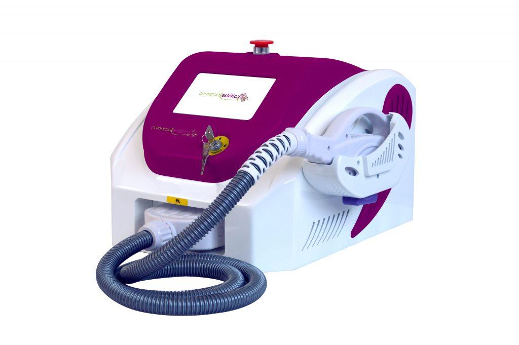 maquina de fotodepilacion ipl