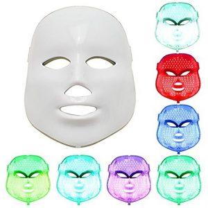 mascara led de 7 colores