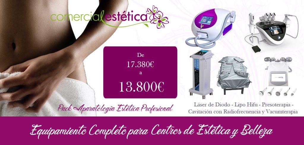 Comprar Aparatología Estética PACK 13800 AL CONTADO